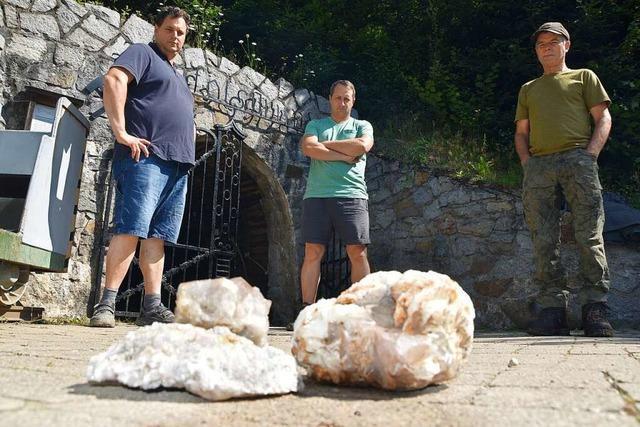 Münstertäler wollen sich gegen Mineralien-Raubgräber wehren