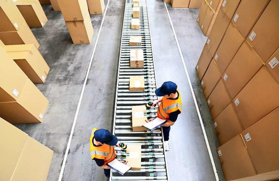 Mehr Ware kommt per Paket zum Kunden.  | Foto: INDUSTRIEBLICK