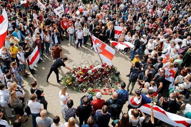 Proteste in Belarus: Staatschef Lukaschenko warnt vor Revolution