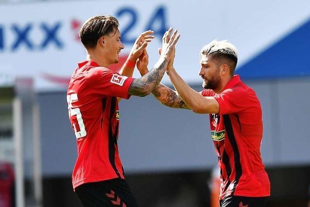 SC Freiburg nutzt beim 1:1 gegen Karlsruhe das Chancenplus nicht