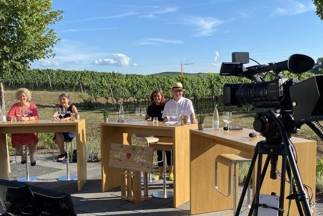 Live-Sendung zum Nachgucken: Die Online-Wein-Fass-Bar der Badischen Zeitung