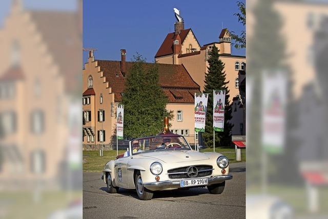 Schöne Autos aus alten Zeiten