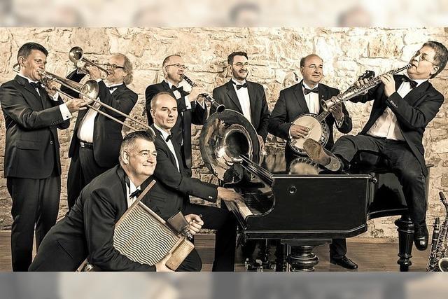 Mit New Orleans-Jazz bereichern die Sugarfoot Stompers den Kultursommer