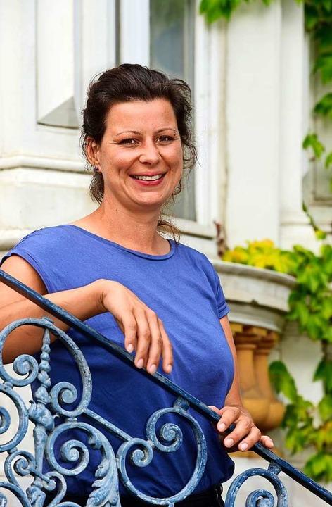Helen Breit ist treue Anhängerin des S...rg und steht bei Heimspielen auf Nord.  | Foto: Thomas Kunz