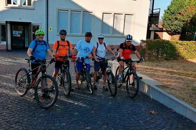 Radler des TV Hofweier absolvieren 100-Kilometer-Tour