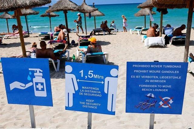 Und plötzlich ist Mallorca Risikogebiet statt Entspannungszone
