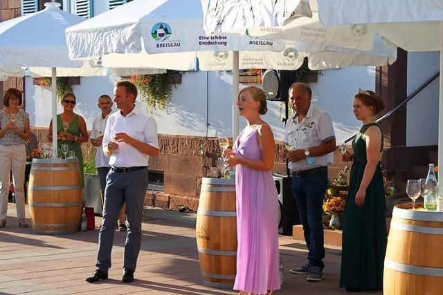 Virtuelle Weinprobe statt Eröffnung mit Fassanstich