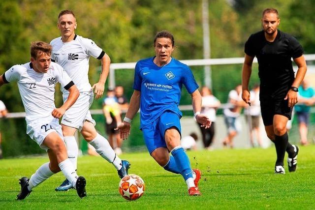 FC Neustadt gerät gegen FC 08 Villingen bereits nach 63 Sekunden ins Hintertreffen