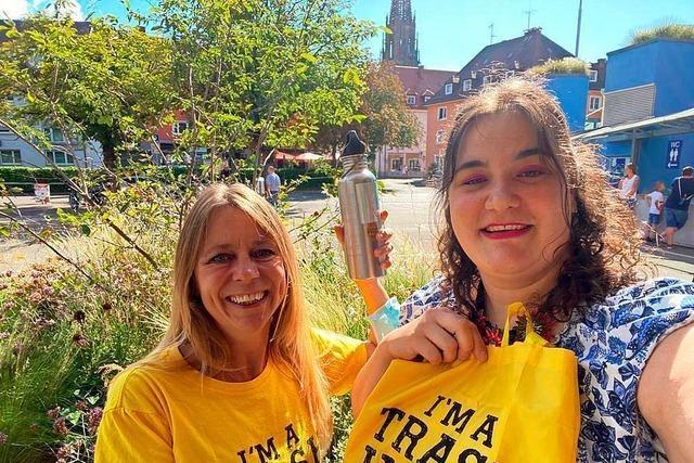 Warum eine kleine Gruppe Freiwilliger Plätze in Freiburg vom Müll befreit