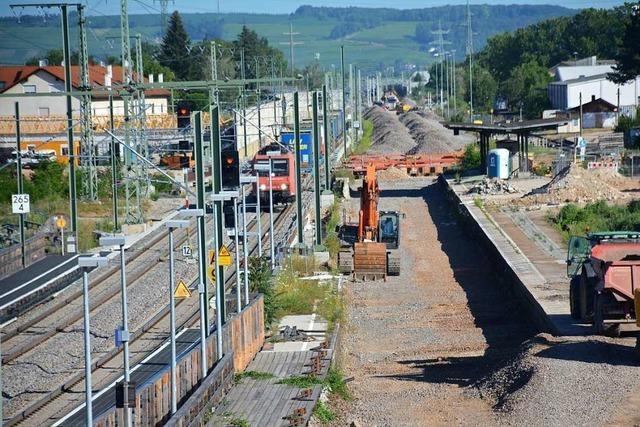 Die Neubaustrecke der Bahn in Weil am Rhein ist ein hochkomplexes Mammutprojekt