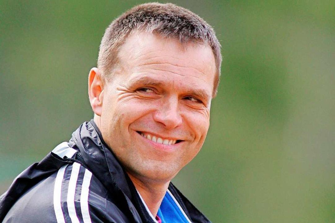 Am Ende konnte er mit einem Lächeln zu...e von 2003 bis 2007 den SV Ewattingen.    Foto: Patrick Seeger