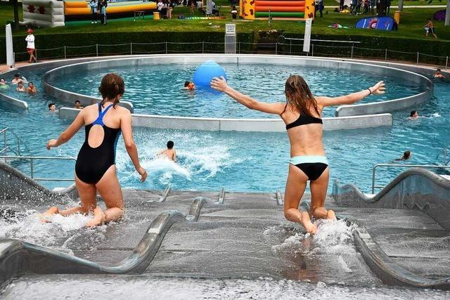 25.000 statt 100.000 Besucher – Corona dämpft die Zwischenbilanz des Parkschwimmbads