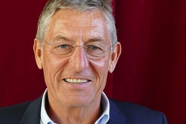 Weinbaupräsident Rainer Zeller erklärt, inwieweit Britzingen von seinem Amt profitiert