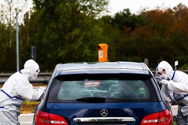 4600 Reiserückkehrer an drei Tagen an der A5 bei Neuenburg getestet