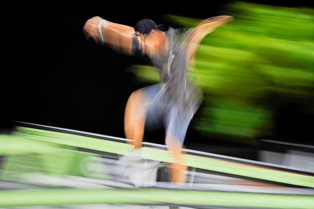 Wie aus einem Guss: Im Idealfall sind die Bewegungen im Parcours fließend.  | Foto: Bettina Schaller