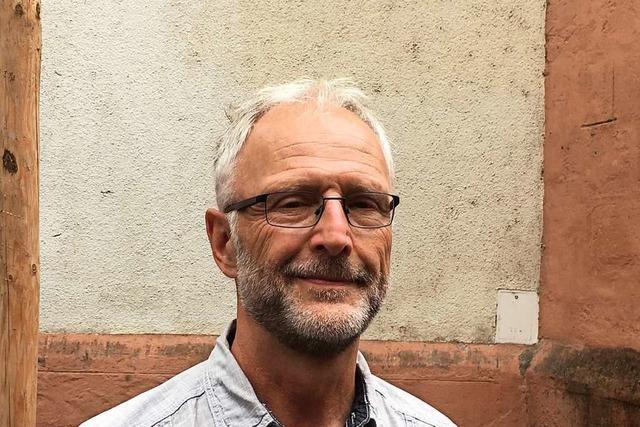 Hermann Heudorfer ist der Baumgießer von Freiburg