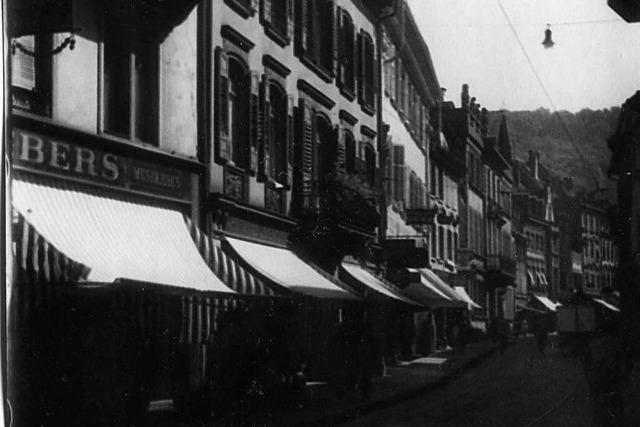Die Salzstraße 7 in Freiburg ist ein schlichtes Haus mit reicher Historie