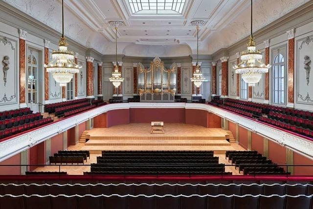 Im modernisierten Basler Stadtcasino beginnt der Konzertbetrieb