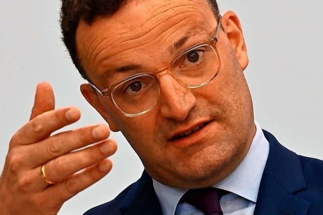 Gesundheitsminister Spahn warnt vor Privatfeiern