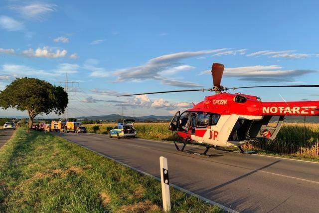 70-jähriger Autofahrer stirbt bei Unfall zwischen Heitersheim und Eschbach