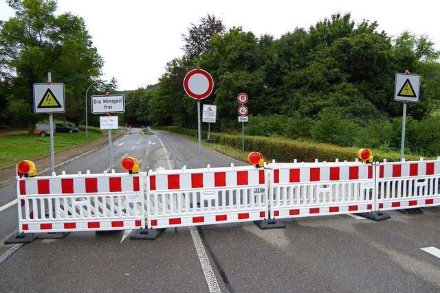 Sanierung der Kreisstraße zwischen Inzlingen und Rührberg liegt im Zeitplan