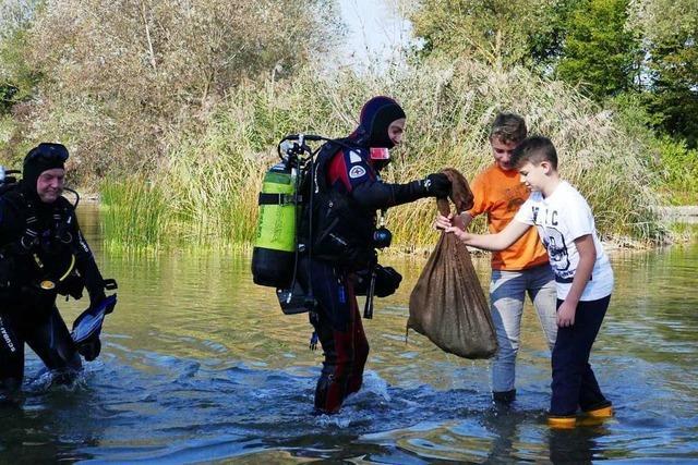 Wie eine Gruppe Jugendliche den Grafensee retten will