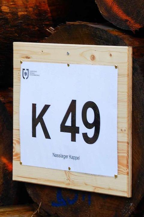 Jeder Polder hat eine Nummer.  | Foto: Peter Stellmach