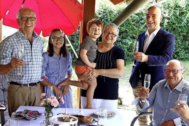 Alt-Bürgermeister feierte 80. Geburtstag