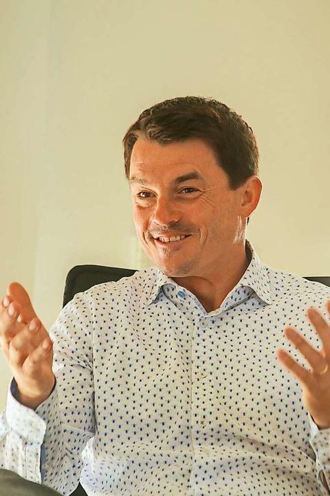 Matthias Gutbrod, Bürgermeister  | Foto: Sandra Decoux-Kone