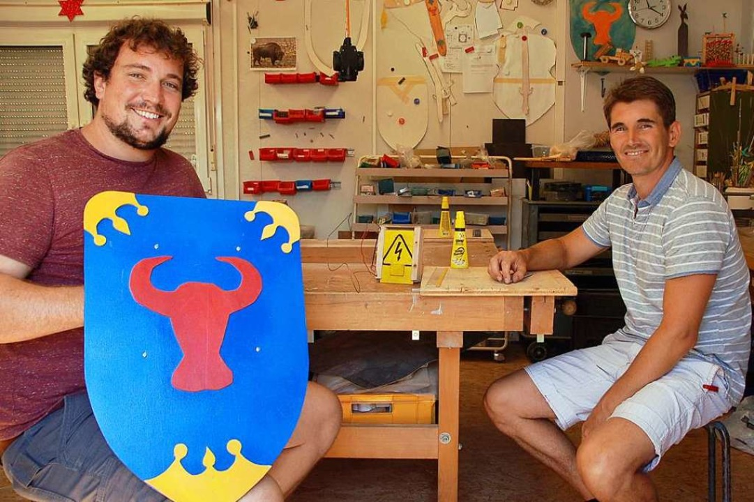 Waren auch während Corona gerne für Ki...e Lindemann (links) und Alexander Keil  | Foto: Petra Wunderle