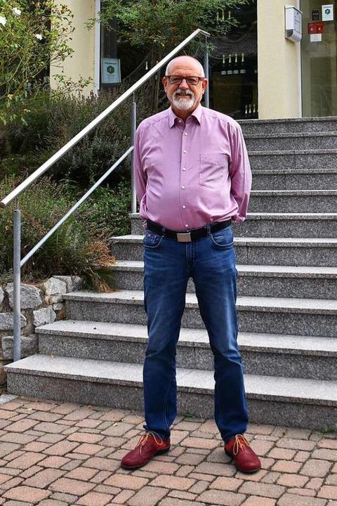 Geschäftsführer Horst Kröhle geht in den Ruhestand.  | Foto: Thomas Rhenisch