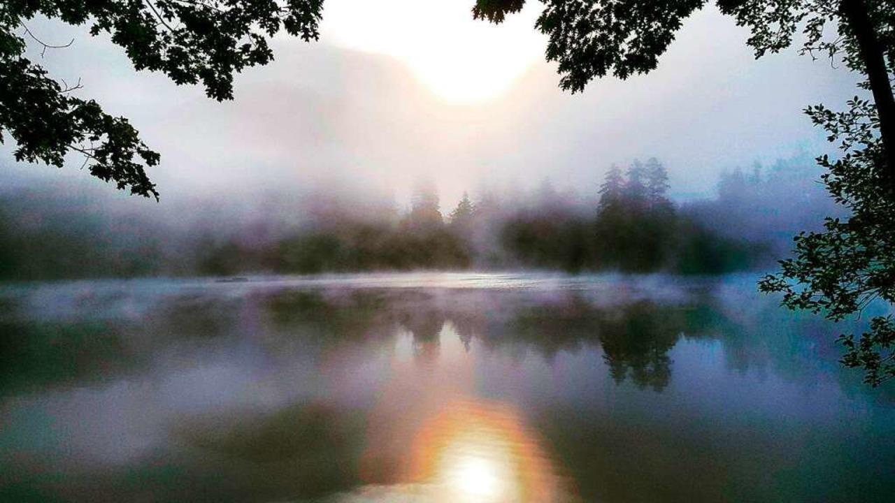 Morgenstimmung am Bergsee  | Foto: Felix Held