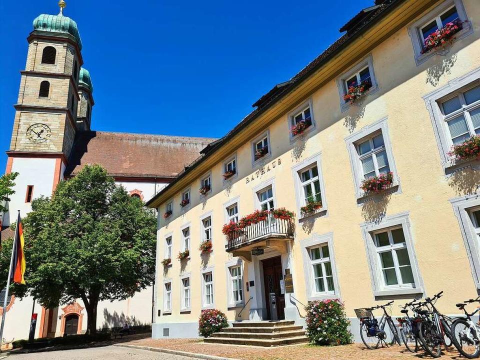 Das Rathaus von Bad Säckingen  | Foto: Stefan Ammann
