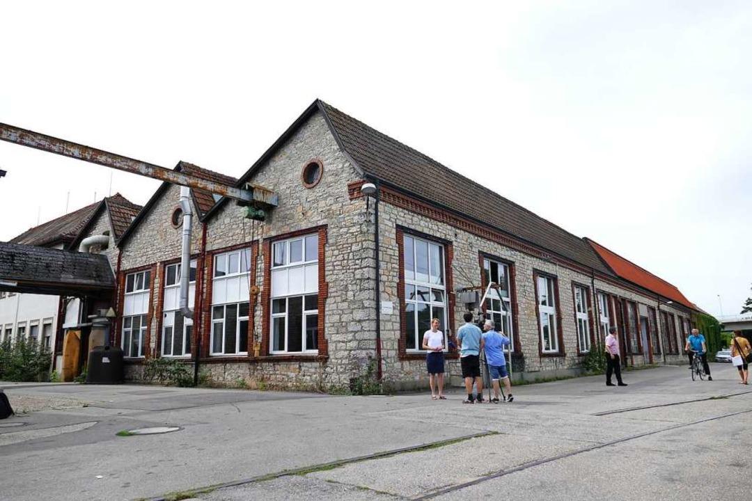 Identitätsstiftend sind die Fassaden d...e-Betriebsgebäude mit den Sheddächern.  | Foto: Peter Gerigk