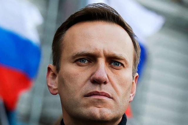 Russische Opposition: Nawalny befindet sich auf Intensivstation