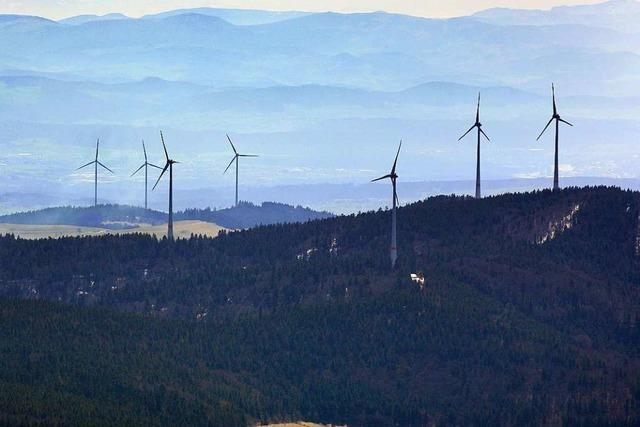 Windparks Hasel und Gersbach produzieren im ersten Halbjahr mehr Strom
