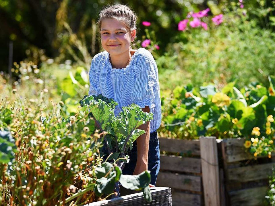 Ronja Behrendt interessiert sich für Ökologie.  | Foto: Rita Eggstein