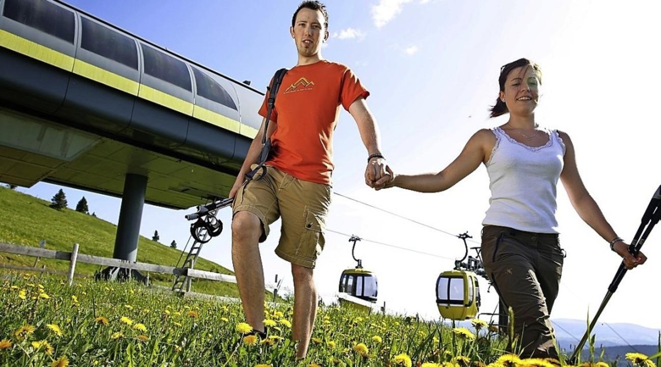 Wer von Münstertal aus zum Wandern ode...ehmen oder den neuen Wanderbus nehmen.    Foto: ZVG