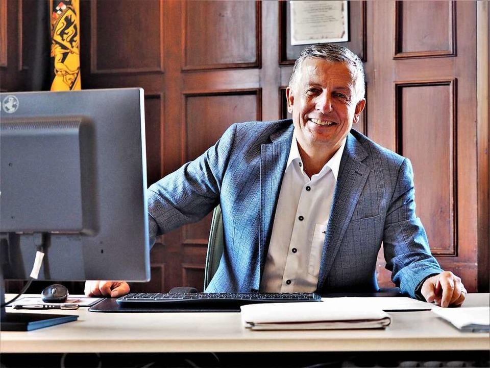Klaus-Michael Tatsch ist seit 2010 Bürgermeister der Gemeinde Hinterzarten.  | Foto: Susanne Gilg