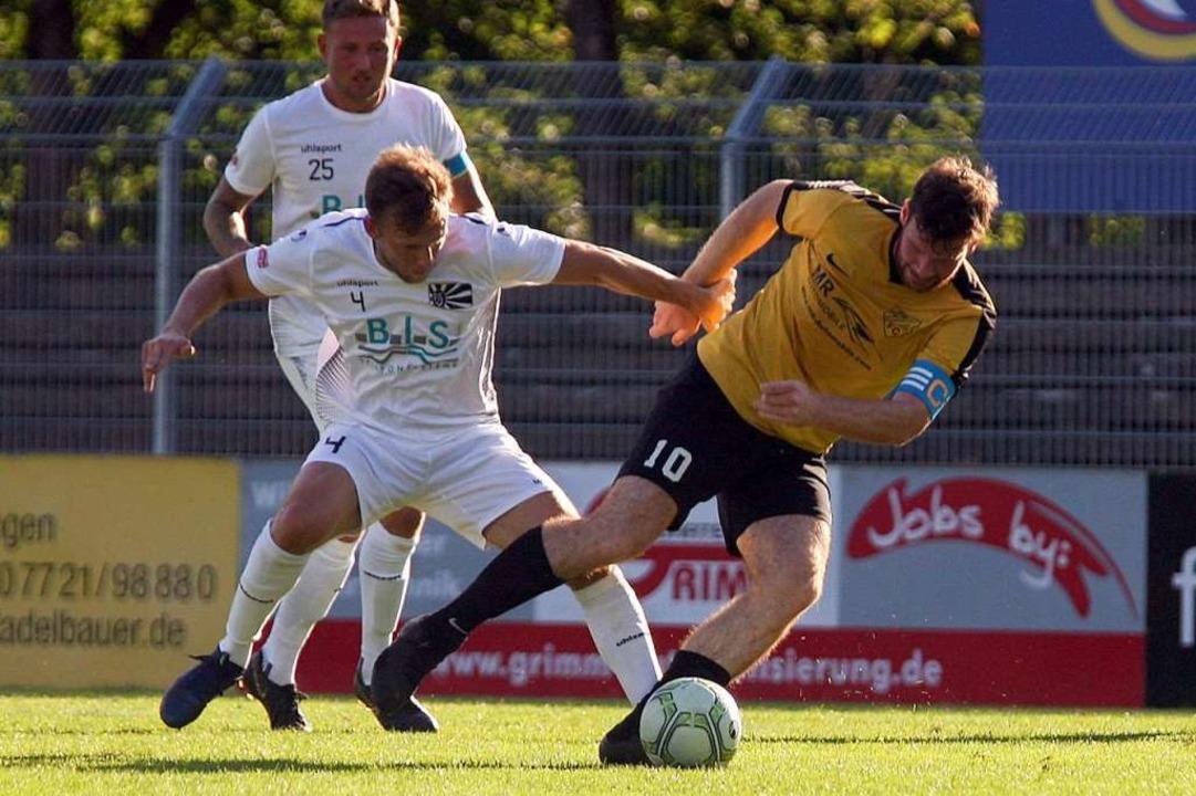 Los geht das Abenteuer Verbandsliga für den FC 08 Villingen II    Foto: Dieter Reinhardt