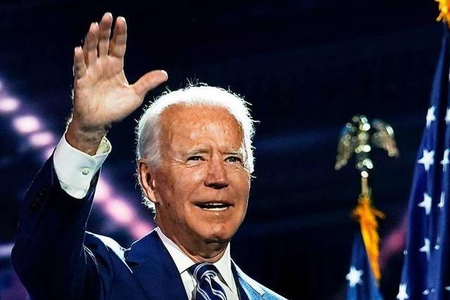 Joe Biden ist ein Brückenbauer ohne Berührungsängste