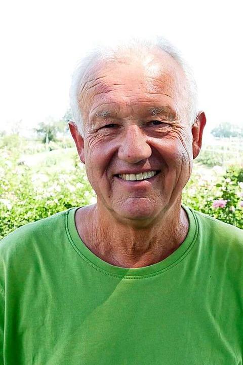 Bernhard Pfrengle ist ein stolzer Hartheimer  | Foto: Frank Schoch