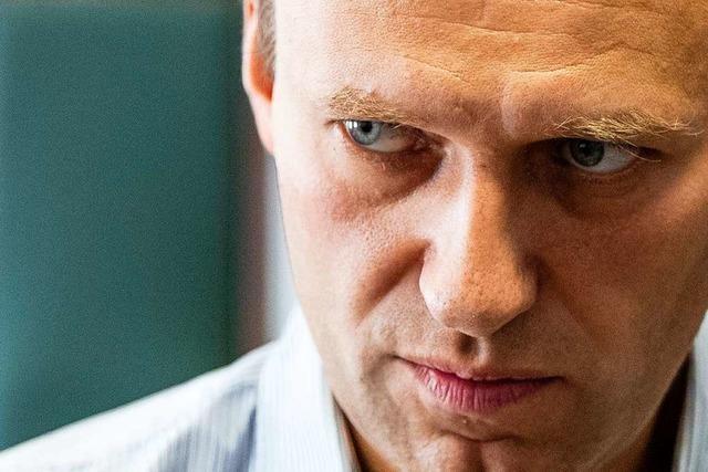 Kremlkritiker Nawalny wird zur Behandlung nach Berlin geholt