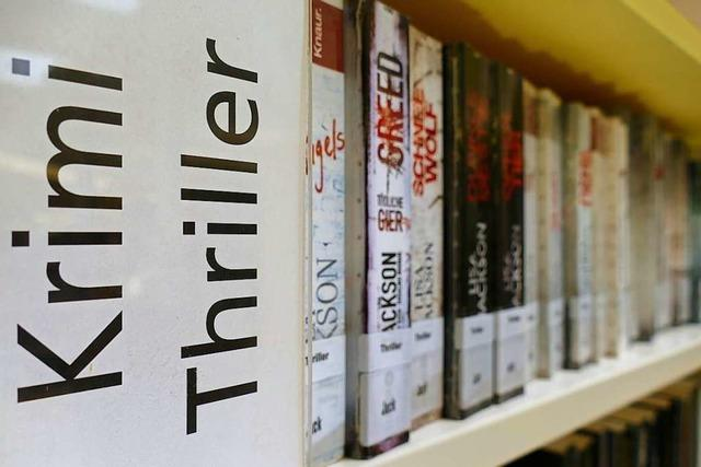 Krimis und Thriller sind bei den Kunden der Stadtbibliothek beliebt