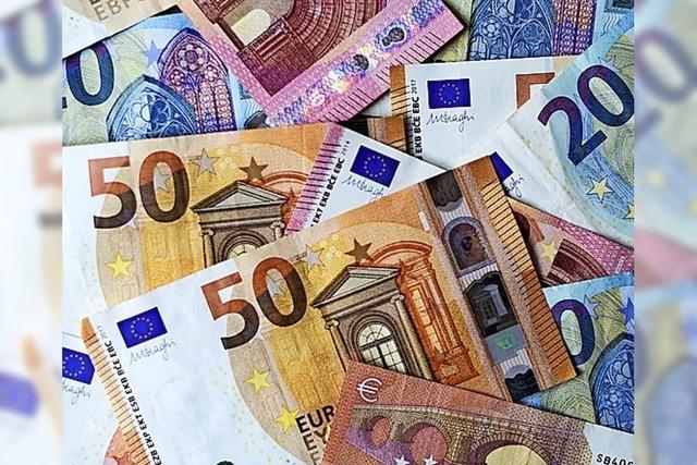 RECHT SO: Geld muss fließen