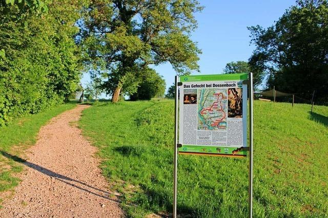 Welche Bedeutung die Schlacht bei Dossenbach für den Ort hat