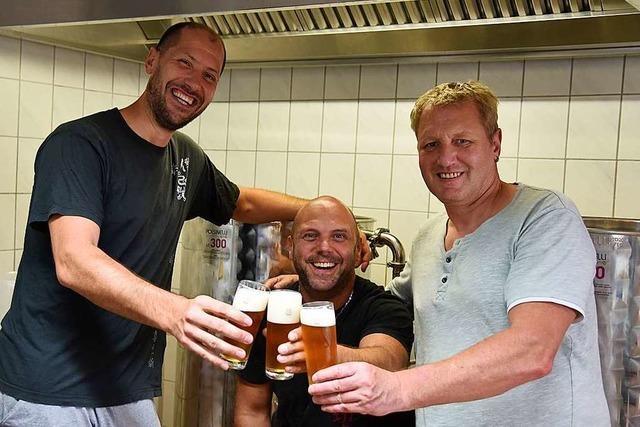 Turner aus Grenzach-Wyhlen brauen ihr eigenes Bier