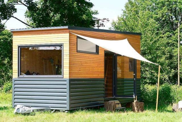Ehepaar aus Grenzach-Wyhlen zieht in Tiny-House – in Holland