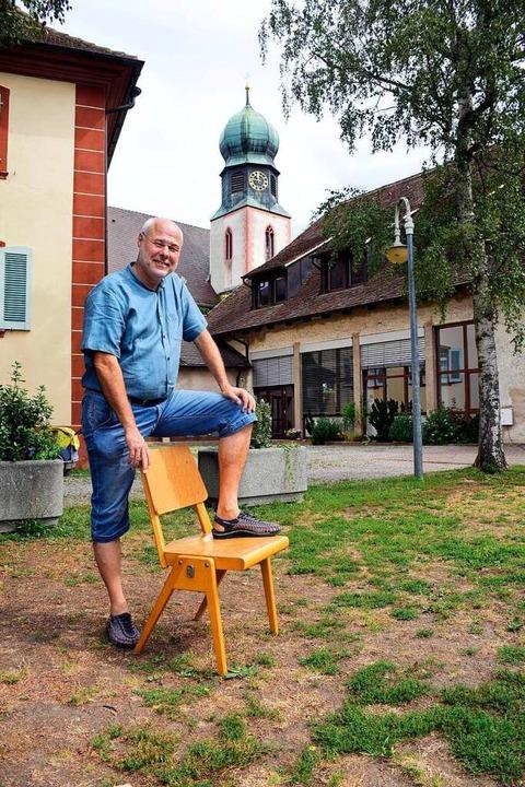 Der Pfarrgarten von St. Cyriak in Lehe...ler und der Gemeinde vielfach genutzt.  | Foto: Thomas Kunz