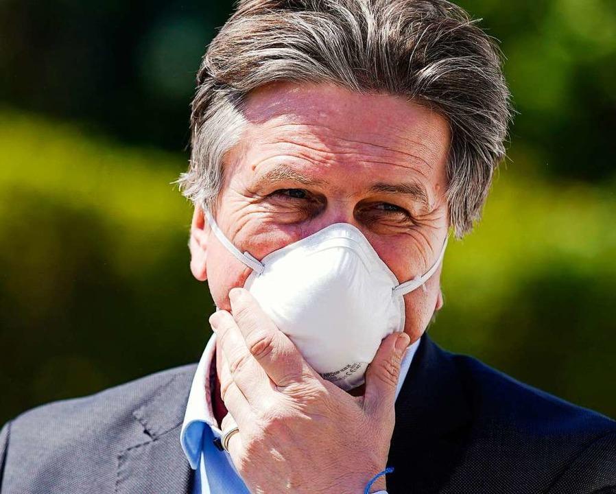 Landesgesundheitsminister Manfred Lucha  | Foto: Uwe Anspach (dpa)